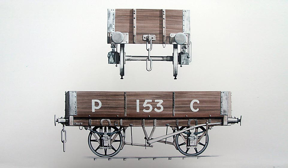 Measured and photographed from the preserved original at Ellesmere Port.