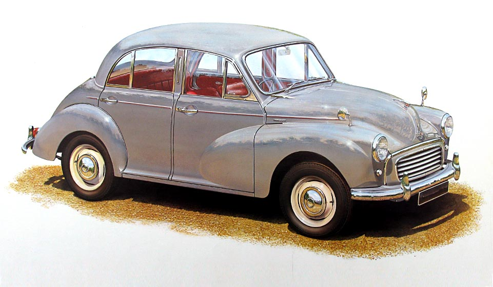 Overall view of four door Minor 1000