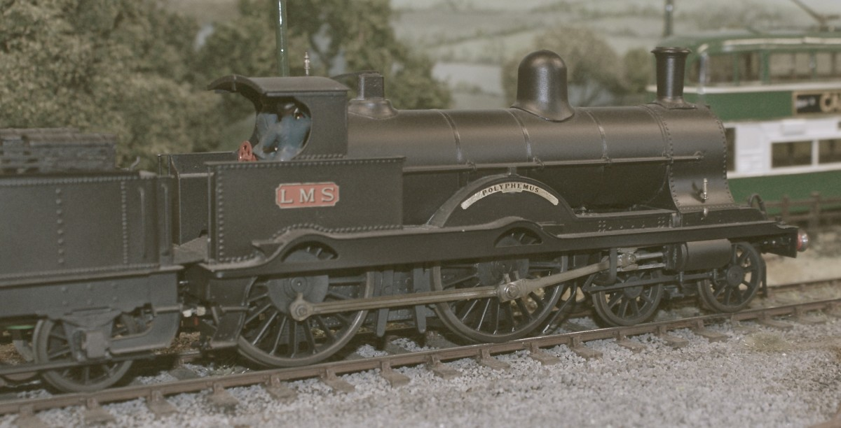 Westcott, and an ex L.N.W.R. 2P Renown Class 4-4-0 No 5117 'Polyphemus' in early L.M.S. livery. This was a rebuild of a Jubilee class loco.