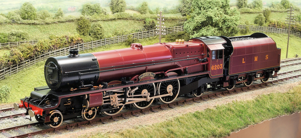 L.M.S. Princess Royal class No 6203 'Princess Margaret Rose' was built in 1935 to haul northern and Scottish expresses.