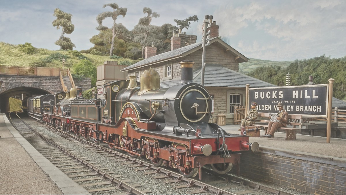 The introductory picture shows an up train, with a Dean Single piloting 2-4-0 No 3242.