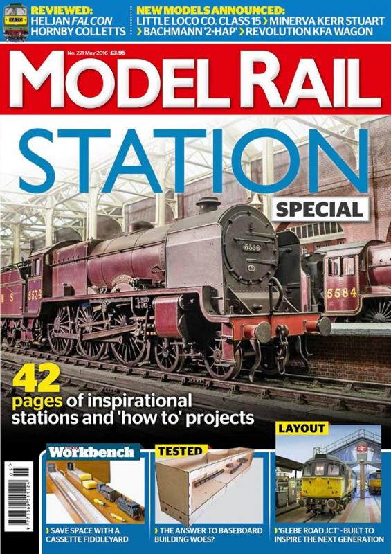 model rail may cover