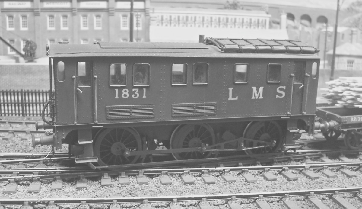 There are many interesting locomotives at Westcott, and No 1831 definitely qualifies as the first experimental diesel shunter of the L.M.S. It was introduced in 1932, possibly at the instigation of the Haslam & Newton company of Derby who supplied the hydraulic transmission, and it was built at Derby Works as a nominal rebuild of a Midland Railway 1377 Class 0-6-0T steam locomotive, The frames and running gear of the original locomotive were retained, and a 400 horsepower Paxman diesel engine provided power.