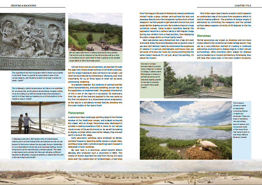 The page design style is clean and easy to follow, with tinted caption boxes to separate them from the body copy.